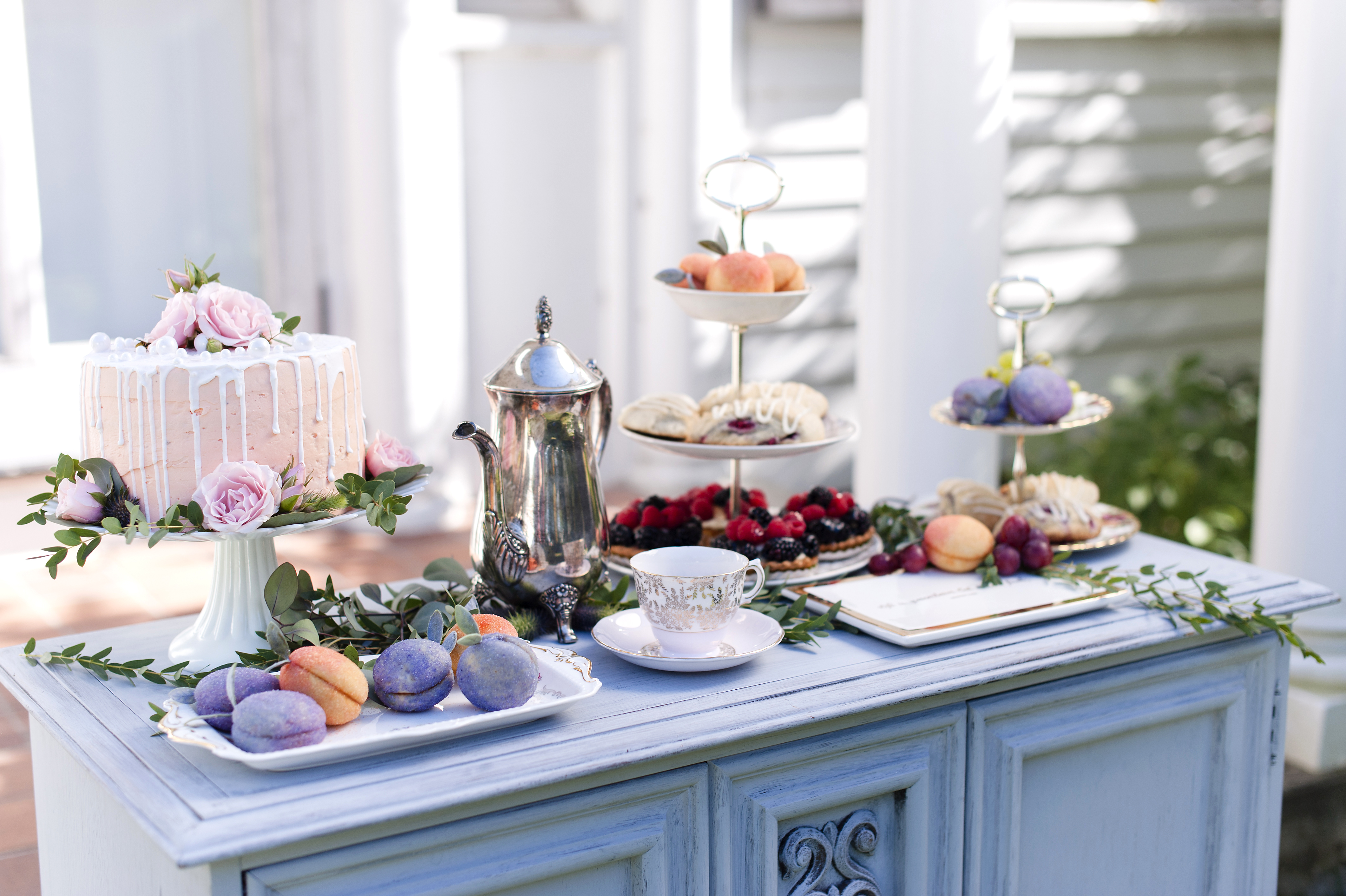 Tea Party Bridesmaid Proposal Heirloom Events And Decor