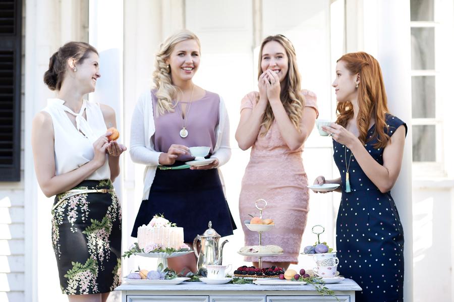 Ottawa wedding tea party Billings Estate